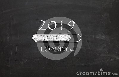 New Year 2019 is loading...