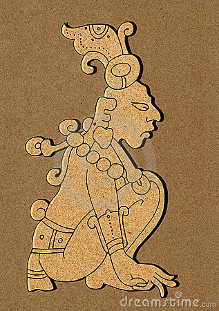 Maya - illustration from Mayan Calendar