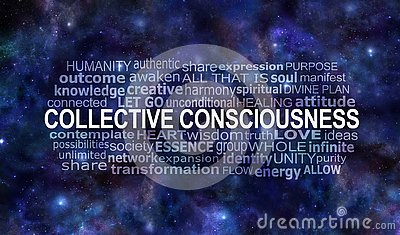 Collective Consciousness Word Tag Cloud