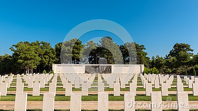 Akbas Martyrs Cemetery and Memorial in Canakkale