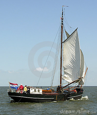 Old dutch ship