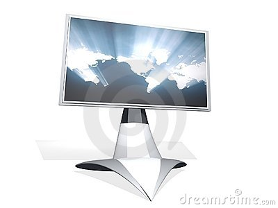 3D tv monitor