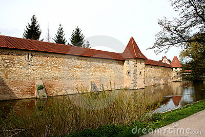City Wall with moat