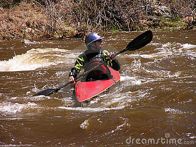 River Kayaker 2