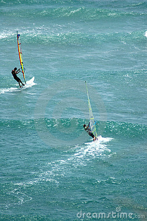 Windsurfing Diamond Head