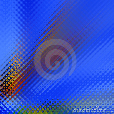 Blue Rippled Background