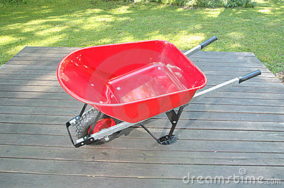 Red wheel barrow 2