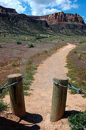 Trail to Liberty Cap