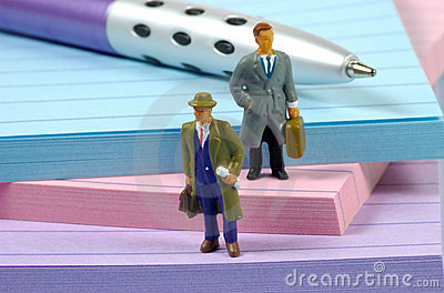 Miniature Businessmen