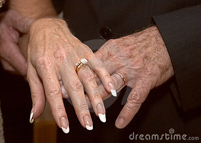 Mature Wedding Hands 2
