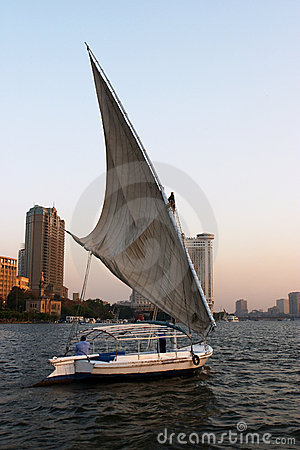 Felukah under sail
