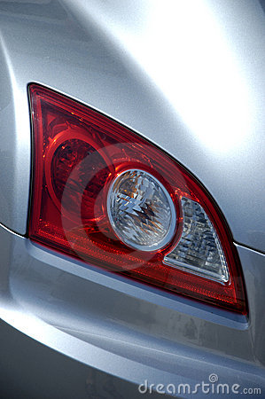 Modern car tail light