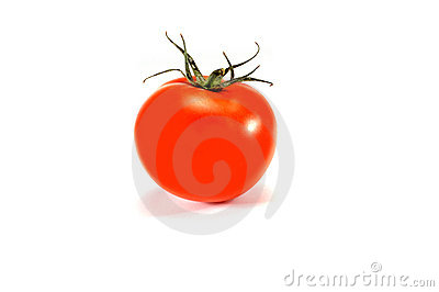 Isolated organic tomato