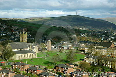 Mossley in Lancashire