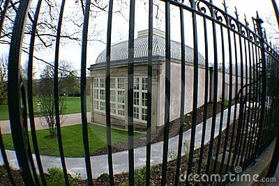 Glass house behind bars