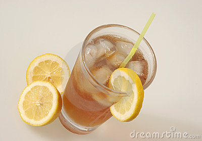 Ice Tea and lemon