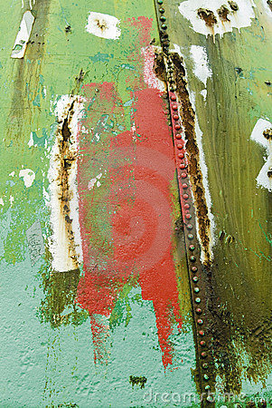 Grot grunge rust paint