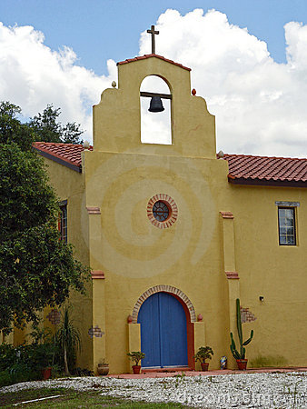Old Mission Church Closeup
