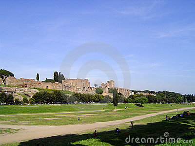View of Ancient Rome