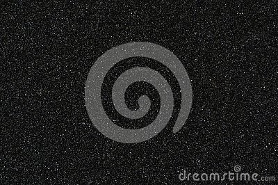 Fine grained waterproof abrasive paper texture black background