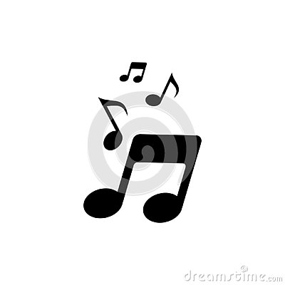 Vector music note icon 5