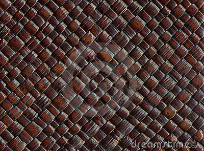 Woven leather