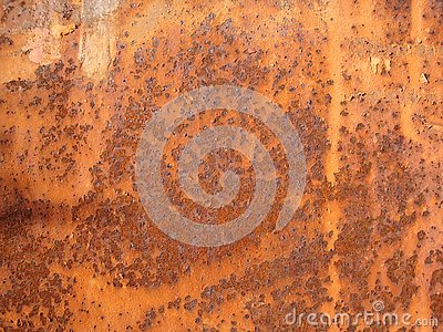 Grunge rusted metal texture. Rusty corrosion and oxidized background.