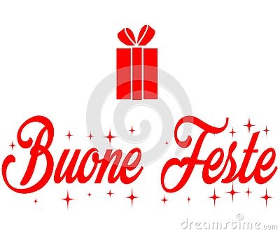 Buone feste, Merry Christmas loce and peace with gifts