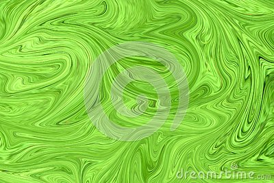 Watercolor Poisonous Background. Toxic Bright Abstraction. Fluorescent Paint. Digital Background With Liquify Flow