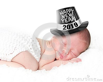 Happy New Year baby 2019