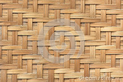 Bamboo basket weave pattern texture background. Background and