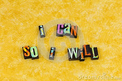 Can will determination ability success