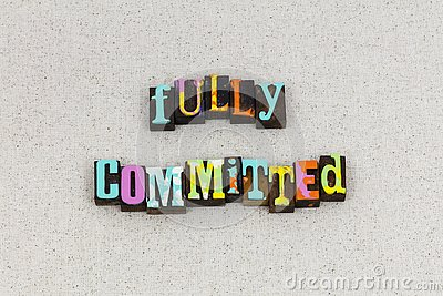 Fully committed responsibility accountability values