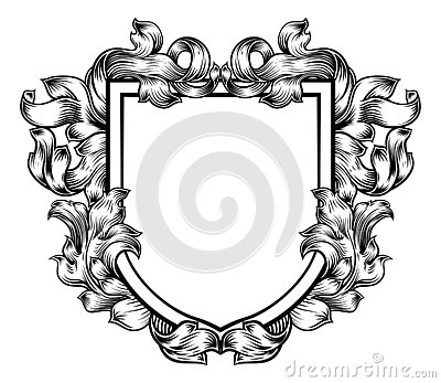 Coat of Arms Crest Family Knight Heraldic Shield