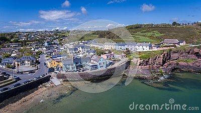 Dunmore East. county Waterford. Ireland