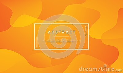 Orange abstract background is suitable for web, header, cover, brochure, web banner and others