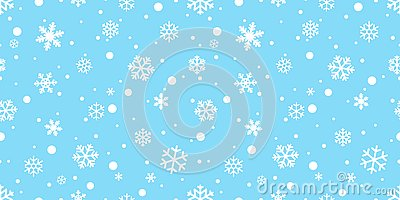 Snowflake seamless pattern vector Christmas snow Xmas Santa Claus scarf isolated repeat wallpaper tile background illustration gif