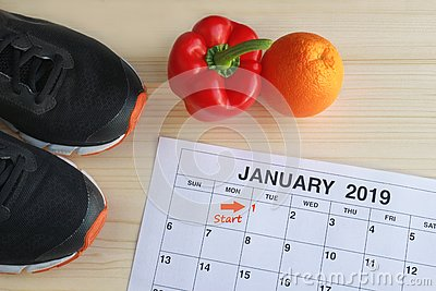 January 2019 Start in a new healthy life