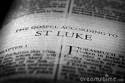 Bible New Testament Christian Gospel St Luke Saint
