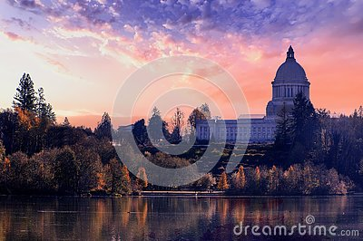 Washington State Capital Building Olympia Washington