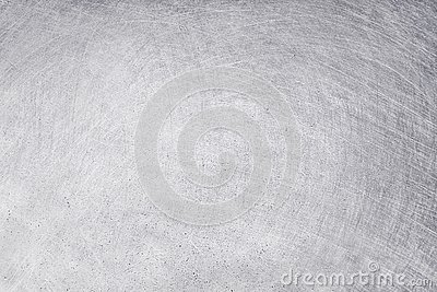 Aluminium texture background, scratches on stainless steel
