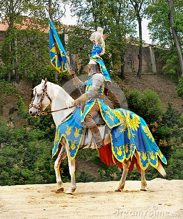 Medieval Knights on Horses, Battle