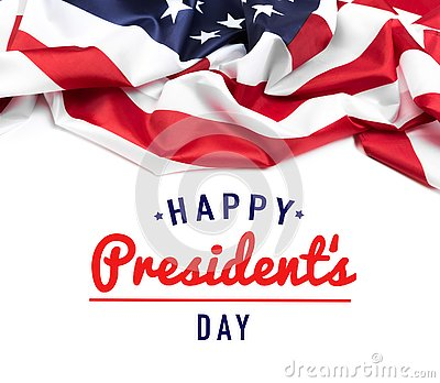 stock image of presidents day usa - image