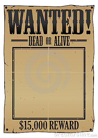 Wanted Poster EPS