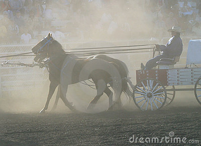 Dusty chuckwagon