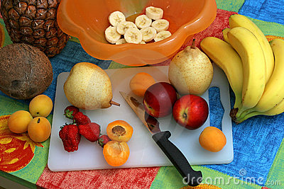 Preparing Fruit Salad I