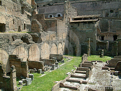 Ruins in Rome