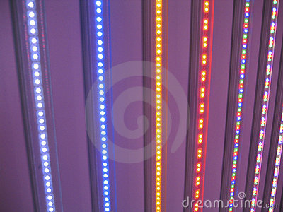 LED lights rainbow