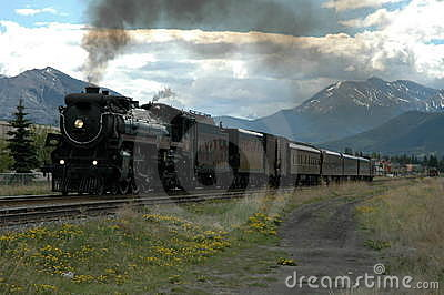 The Empress Steam locomotive