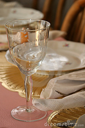 Wineglass at Table 1